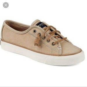 Women's Sperry Top-Sider Seacoast Sneakers Tan